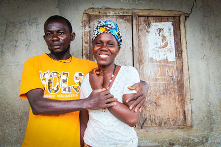 Isatu and her husband. Portraits of Ebola survivors in Sierra Leone (2015). Image for All We Can